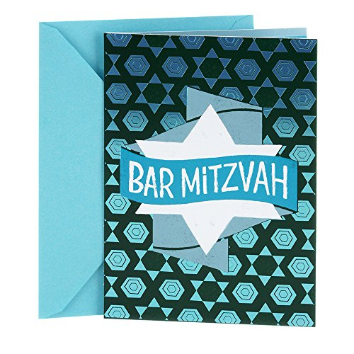 Hallmark Tree of Life Bar Mitzvah Greeting Card (Bar Mitzvah Banner)
