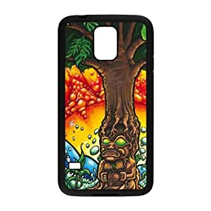 Samsung Galaxy S5 Cell Phone Case Black_Tree of Life Doyib