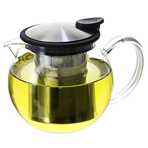 FORLIFE Teapot Infuser 25 Ounce Graphite
