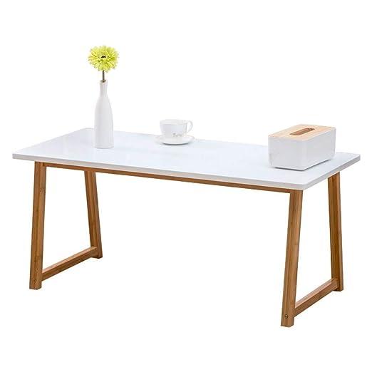 Mesas de café Asamblea de Mesa Blanca Plegable Mesa de té de la ...