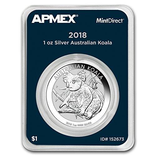 2018 AU Australia 1 oz Silver Koala (MintDirect® Single) 1 OZ Brilliant ()