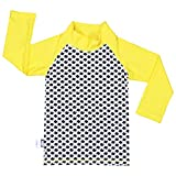 Kids Rash Guard UPF 50 Sun Protection Shirt (Shirt XL: 3Y+, stars)