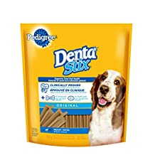 Pedigree DENTASTIX Original Oral Care Treats for Medium Dog, 32-Pack