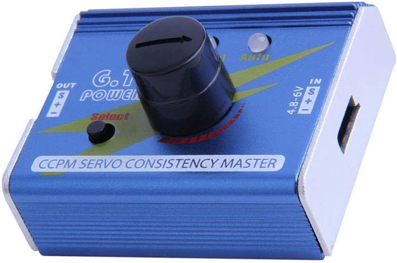 Steering Gear Tester CCPM 3-Mode ESC Servo Motor  RC Helicopters Adjustment BBC
