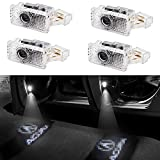 GANKING Car Door LED Logo Projector Ghost Shadow Lights Welcome Lamp Easy Installation for Acura(4 pack)