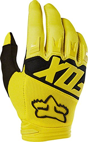 Motorcycle Gloves Dirtpaw (Fox Racing Dirtpaw Race Men's Off-Road Motorcycle Gloves - Yellow / Large)