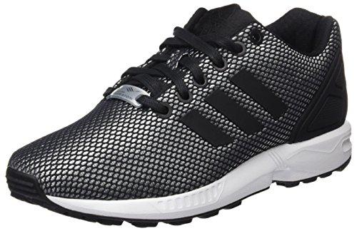 adidas ZX Flux, Scarpe da Corsa Unisex-Adulto Grigio (Clear Onix/Core Black/Ftwr White)