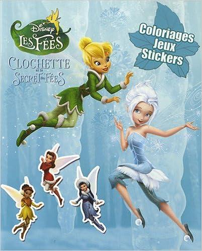 Coloriage Fee Pdf.Telechargement Complet D Ebooks La Fee Clochette 4 Coloriages