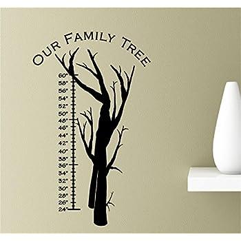 Amazon.com: Our family tree Vinyl Wall Art Inspirational ...