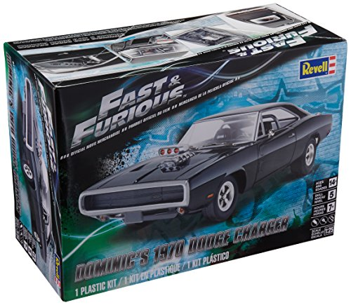 Dodge Model Kit - Revell Fast & Furious Dominic's 1970 Dodge Charger Plastic Model Kit