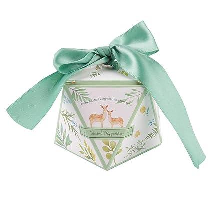 Amazon Com Mumusuki Wedding Candy Box Sweet Bag Small Gift Birthday