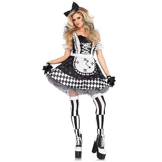 WWAVE Disfraz de Halloween Cosplay Cosplay Maid Traje ...
