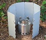 Solo Stove Solo Aluminum Windscreen: for Use and