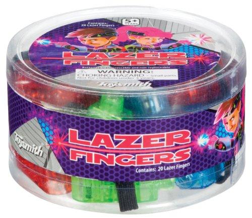 Toysmith 22021 Lazer Finger 20 Pack