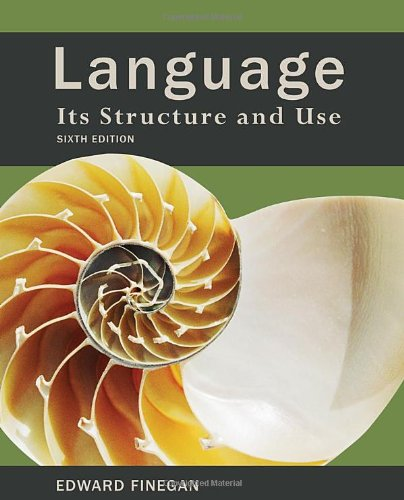 Language: Its Structure and Use by Wadsworth Publishing
