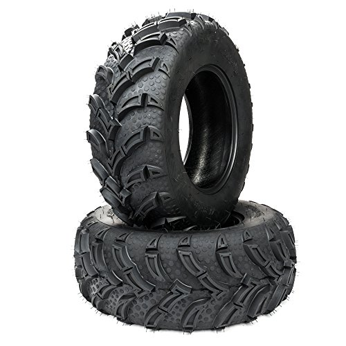 MILLION PARTS 2 ATV/UTV Tires 25x8-12 25x8x12 Front 6 Ply Rated