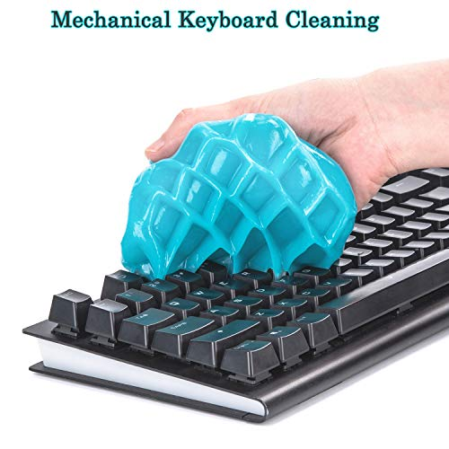 Cleaning gel for keyboards