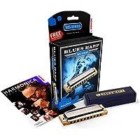 ARMONICA BLUES - Hohner (532/20Eb) Blues Harp (Nota Mib) (20 Voces) MS Series