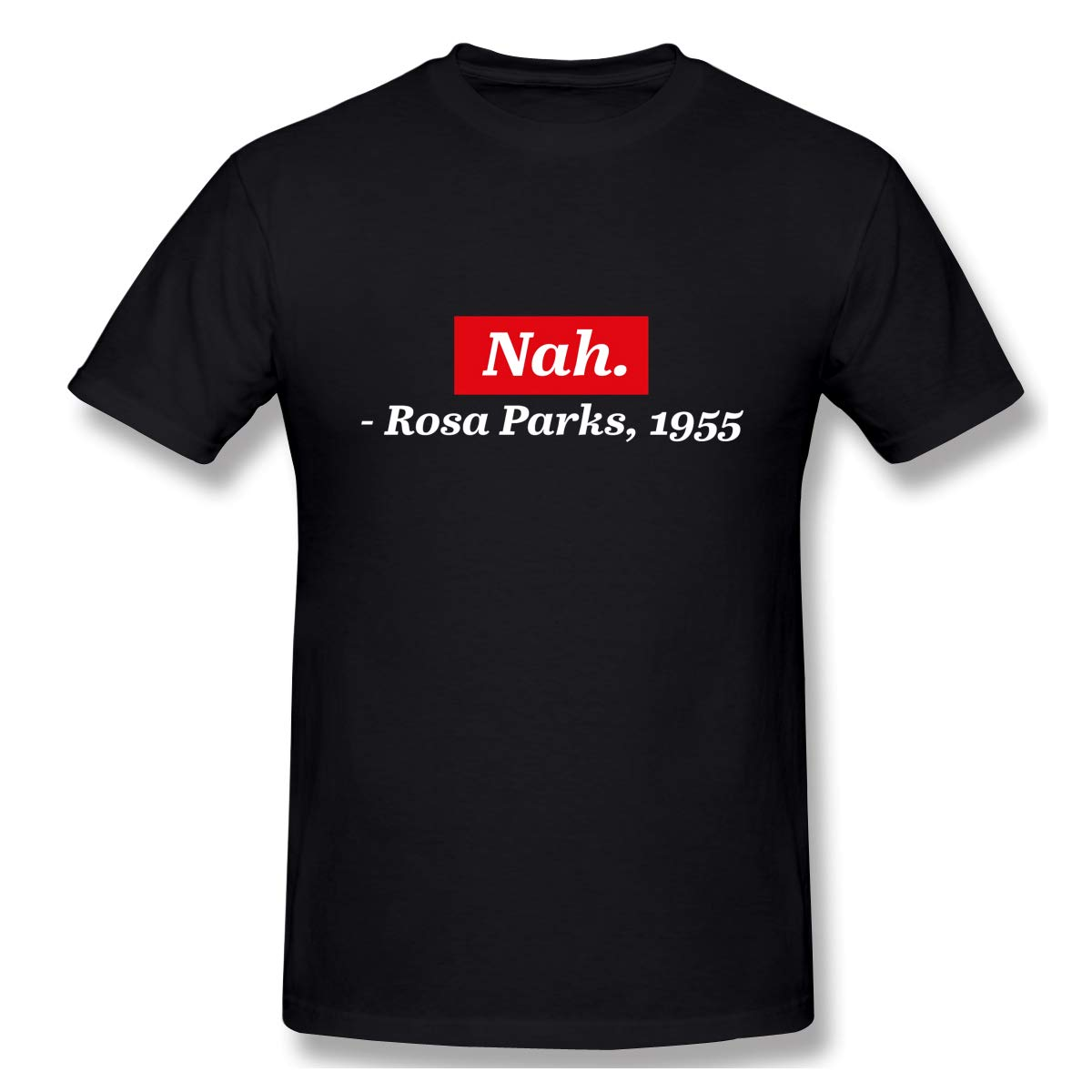 Gallagher Nah Rosa Parks 1955 Casual T Shirt Short Sleeve Tee For