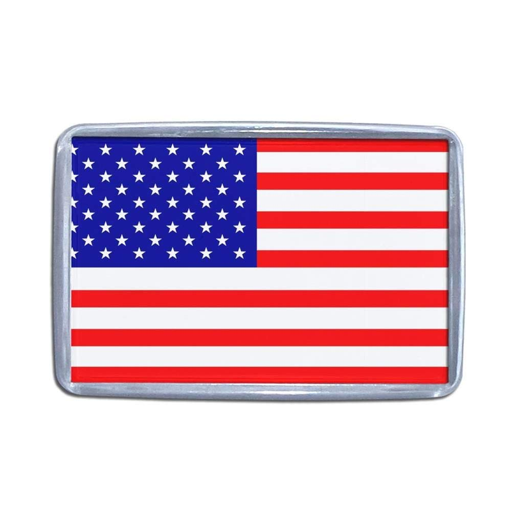 USAフラグ – プラスチック冷蔵庫マグネット(選択肢のサイズ S sm-pm-usa S  B00U2KV994