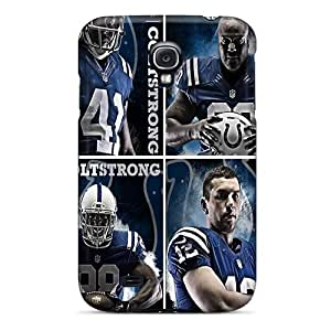 Tpu Cases Covers Compatible For Galaxy S4/ Hot Cases/ Indianapolis Colts