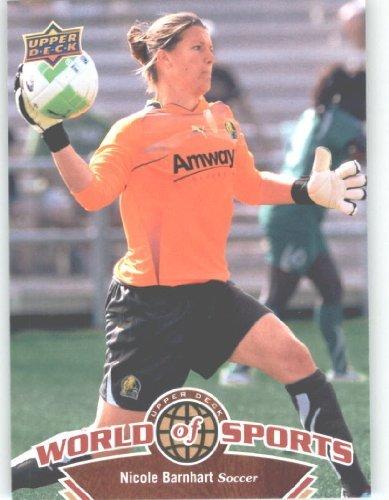 2010 Upper Deck World of Sports #112 Nicole Barnhart/Women's Soccer Cards/Stanford Cardinals - Deck Soccer Women Upper Card