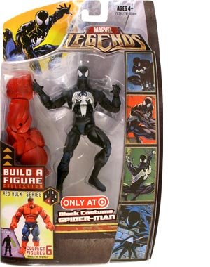 Marvel Legends Exclusive Red Hulk Build-A-Figure Wave Action Figure Black Sui...