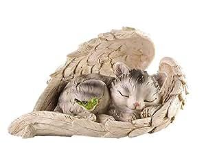 Regalo Craft polirresina CAT en ala decoración