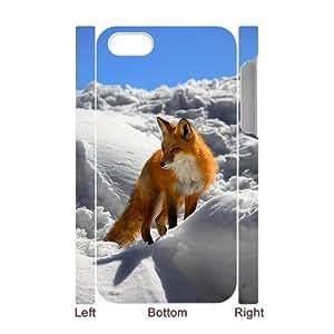 ANCASE Diy hard Case Fox customized 3D case For Iphone 4/4s