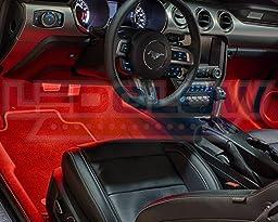 LEDGlow 6pc Expandable Million Color SMD Interior Light Kit
