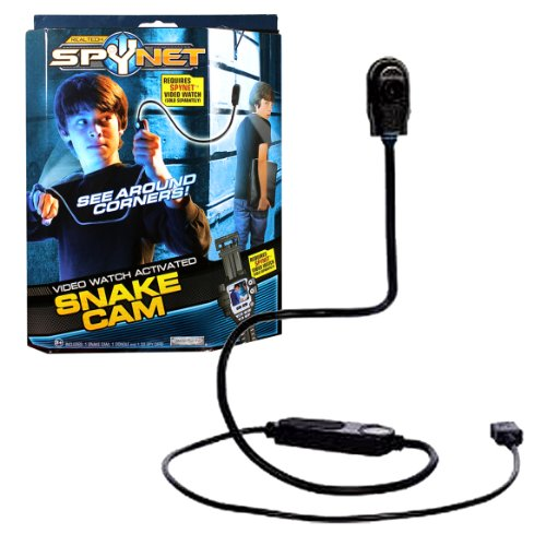 Jakks Pacific Year 2010 Real Tech SpyNet Series Video Watch Activated SNAKE CAM with 1 Dongle and 1 3D Spy Card (Requires Spy Net Video Watch, Sold Separately)