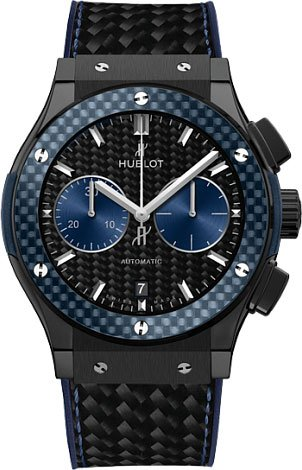 Hublot Classic Fusion Bol d'Or Mirabaud Ceramic Automatic Mens Watch 521.CQ.1770.QR.BOM15