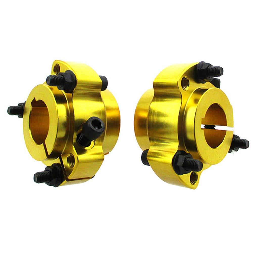 STONEDER mozzi per Ruota Posteriore in Alluminio da 25 mm Go Kart Drift bulloni da 1//4 per Moto da Corsa