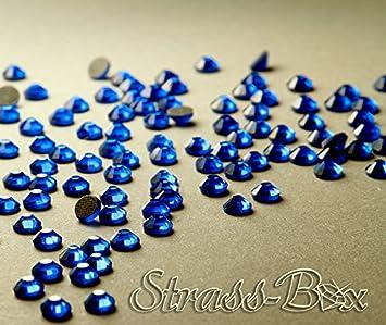 Hotfix DMC Strasssteine CAPRI BLUE SS20 St/ückzahl w/ählbar Blau AAA Qualit/ät 50