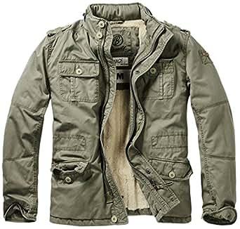 Brandit Men's Britannia Winter Jacket Olive at Amazon Men