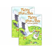 NEW EDITION! Twice Upon A Time Twins Baby Memory Books (Hardcover - SET OF 2)