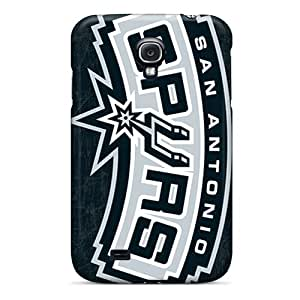 Durable Protector Case Cover With San Antonio Spurs Hot Design For Galaxy S4
