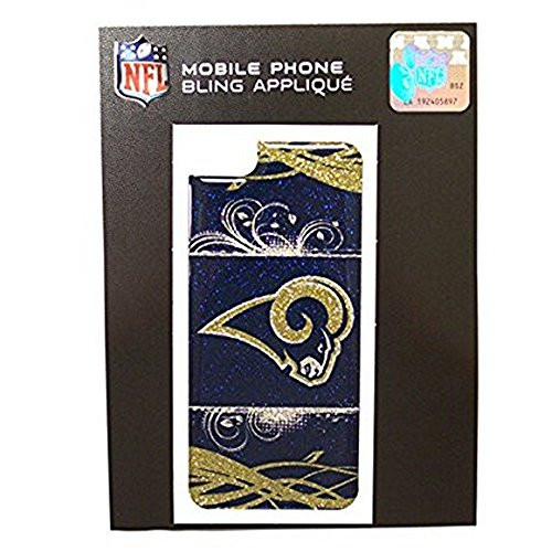 - NFL Licensed iPhone 5/5s Bling Applique (St. Louis Rams)