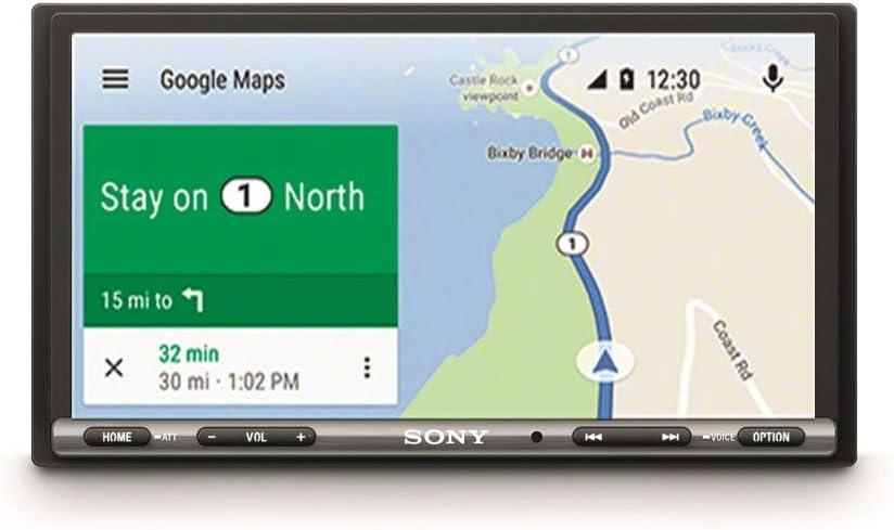 """Sony XAV-AX3005DB - Reproductor 2DIN para Coche, Color Negro, Pantalla táctil de 6.95"""""""