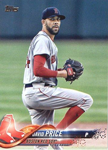 2018 Topps Series 2#411 David Price Boston Red Sox Baseball Card - GOTBASEBALLCARDS