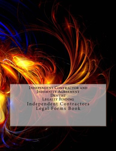 Buy Independent Contractor And Indemnity Agreement Dentist