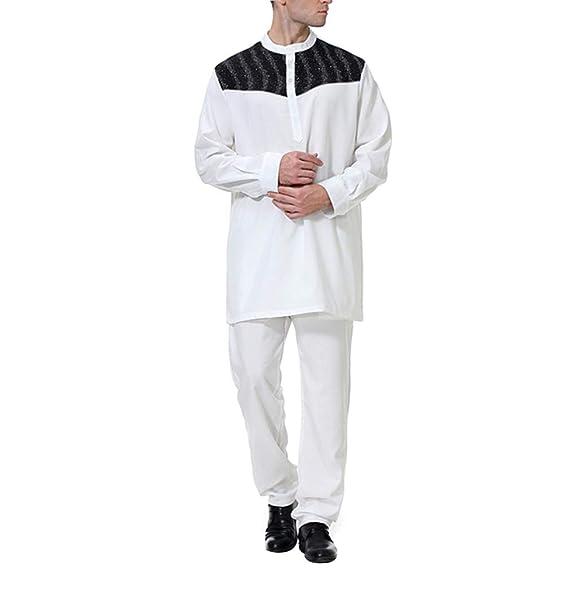 Vestido Abaya Camisas Hombre Traje - Maxi Larga Caftan ...