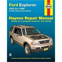 Ford Explorer 2002 thru 2006: Includes Mercury Mountaineer