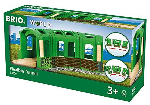 BRIO 33709 - Flexibler Tunnel, bunt