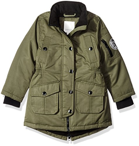 Available Girls 6X Green Diesel More Jacket Jacket Girls' Big Outerwear Styles RFpqBY