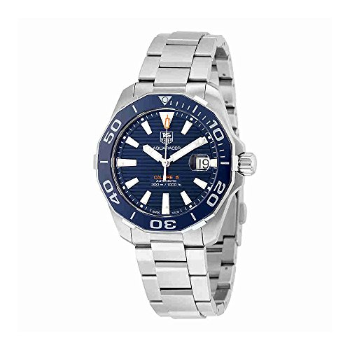 TAG Heuer Men's 'Aquaracr' Swiss Automatic Stainless Steel Sport Watch (Model: WAY211C.BA0928) ()