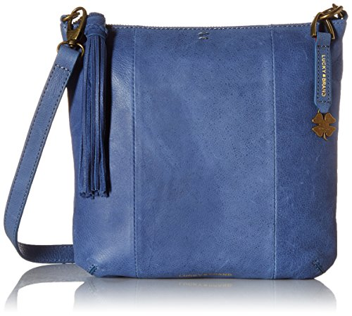 Lucky Brand April Xbody, Denim Blue by Lucky Brand