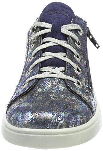 Superfit Mädchen Marley Sneaker Blau (Ocean Kombi)