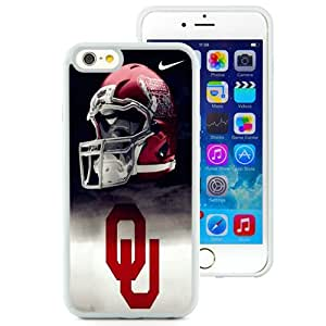 iPhone 6/iPhone 6S 4.7 Inch TPU Case ,Oklahoma Sooners 01 White iPhone 6/iPhone 6S Cover Unique And Durable Designed Phone Case