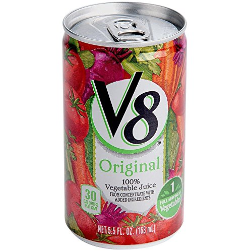 TableTop King Campbell's V8 5.5 oz. Original Vegetable Juice - 48/Case by Table Top King